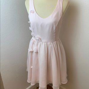 Lauren Conrad Blush Pink Disney Cinderella Dress.
